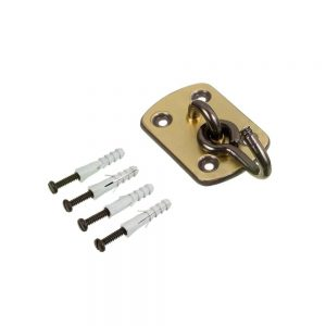Armador/Gancho para Rede Latonado Oxidado
