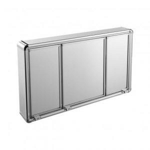 Armário Astra Sobrepor Alumínio 45x73x11,3cm