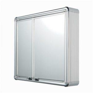 Armário Astra Sobrepor Alumínio 54x45x11,3cm