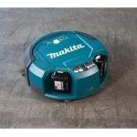 Aspirador de Pó Robô Makita à Bateria 18V com Controle Remoto