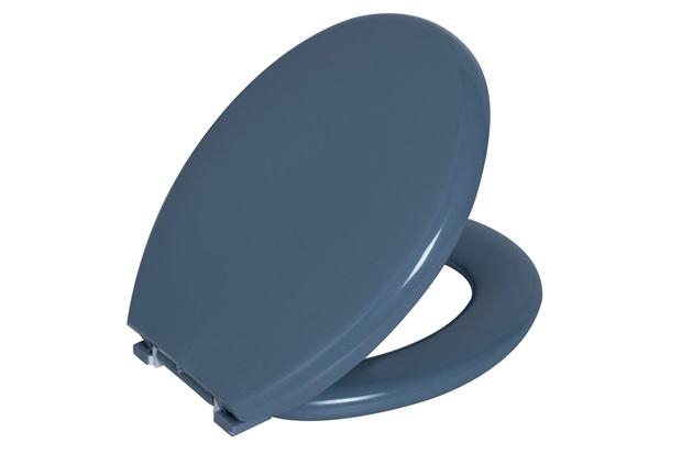Assento Astra Almofadado Convencional Cinza Escuro