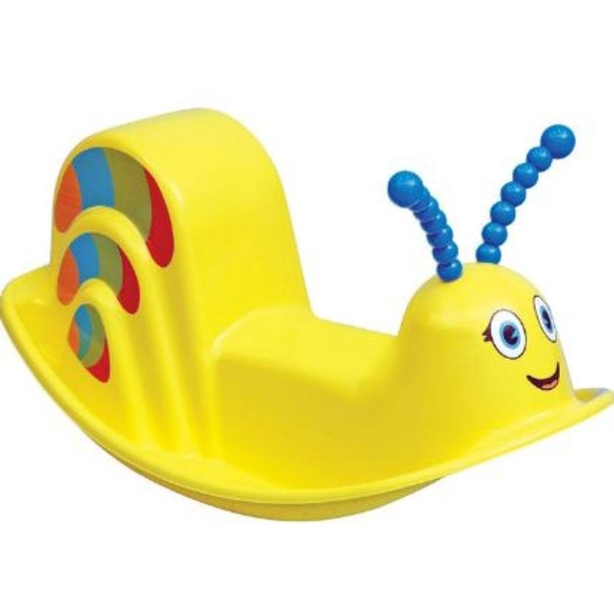 Balanço Plástico Tramontina Infantil Dindon Amarelo