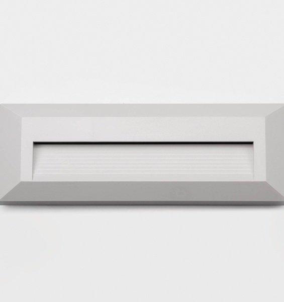 Balizador Germany Light Embutir Quad Led 2W Ip65 3000K Branco