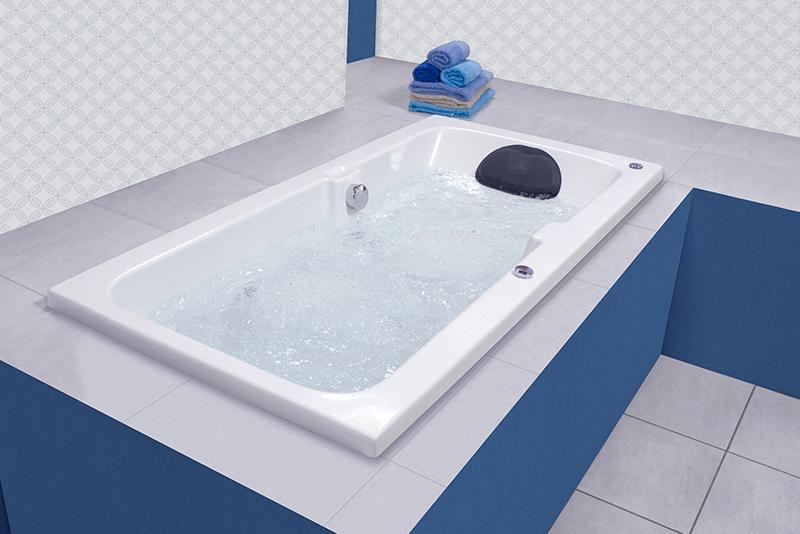 Banheira Profax H05 Branca 170x85x44 1/2CV