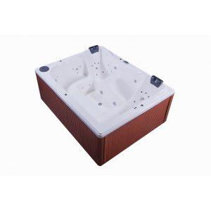 Banheira Profax Spa01 240×190 com 3 Almofadas