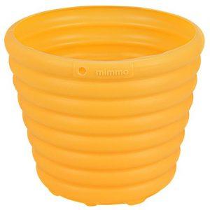 Cachepô/Vaso para Flores Amarelo 5,5L