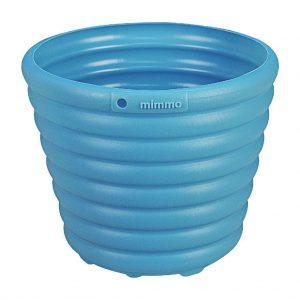 Cachepô/Vaso para Flores Azul 1,7L