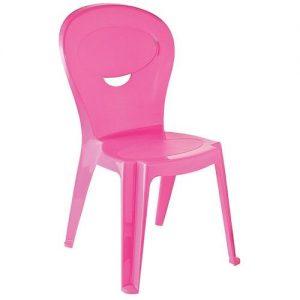 Cadeira Plástica Tramontina Infantil Vice Rosa
