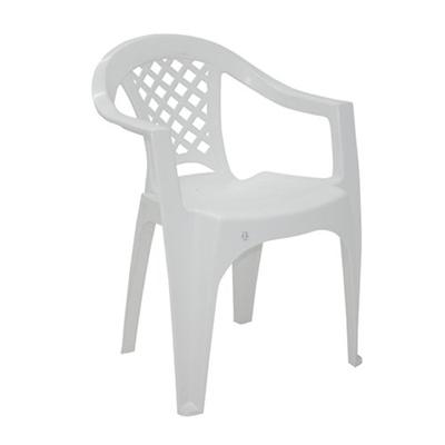 Cadeira Plástica Tramontina com Braço Iguape Br