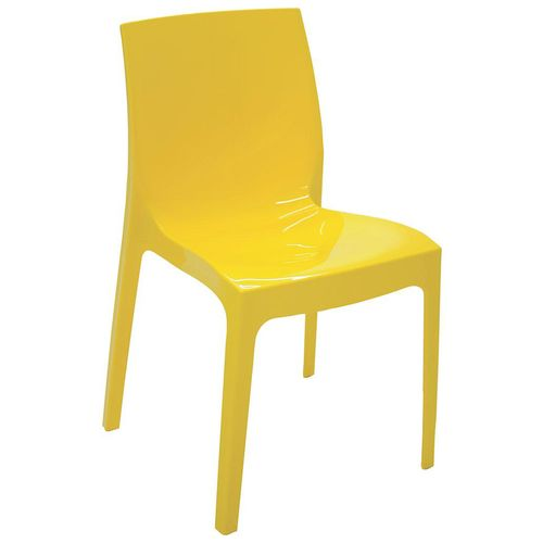 Cadeira Tramontina Alice Amarelo