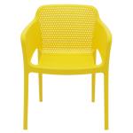 Cadeira Tramontina Gabriela Amarela