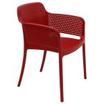 Cadeira Tramontina Gabriela Vermelha
