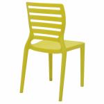 Cadeira Tramontina Infantil Sofia Amarela