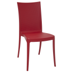Cadeira Tramontina Laura Ratan Vermelha