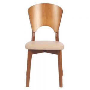 Cadeira Tramontina Oslo com Estofado Bege