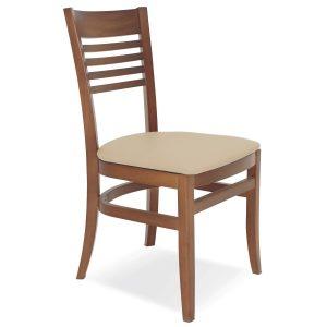 Cadeira Tramontina Paris Marie com Estofado Bege