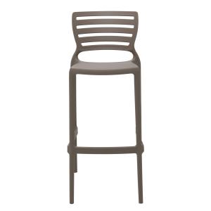 Cadeira Tramontina Sofia Alta Bar Caramelo