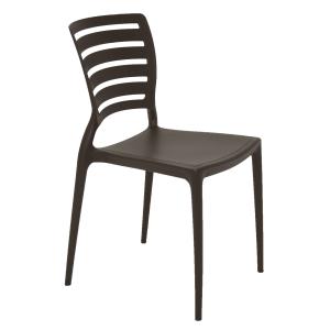 Cadeira Tramontina Sofia Horizontal Marrom