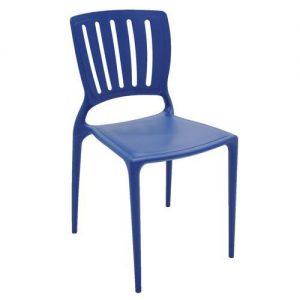 Cadeira Tramontina Sofia Vertical Azul Mariner
