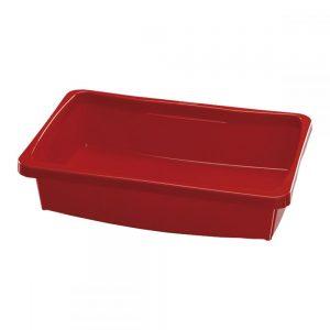 Caixa Plástica Astra 3L Vermelho