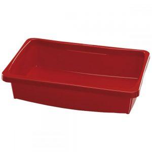 Caixa Plástica Astra 5L Vermelha