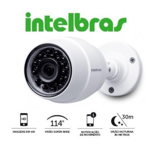 Câmera de Segurança Intelbras Wi-Fi HD IC5