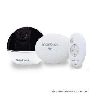 Câmera de Segurança Intelbras Wi-Fi HD IC7 C/Alarme Integrado