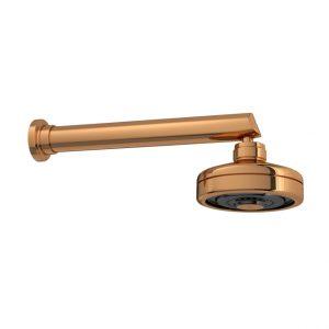 Chuveiro Deca Acqua Plus com Tubo Parede Red Gold 1990GlCTRD
