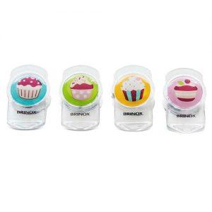 Clip Magnético Multiuso 4pçs Cupcake
