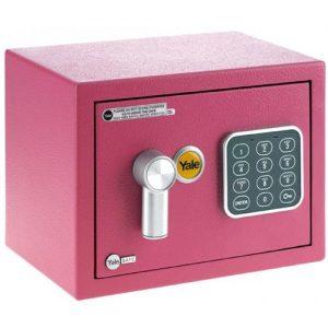 Cofre Eletrônico Yale Mini Pink (05573001-8)