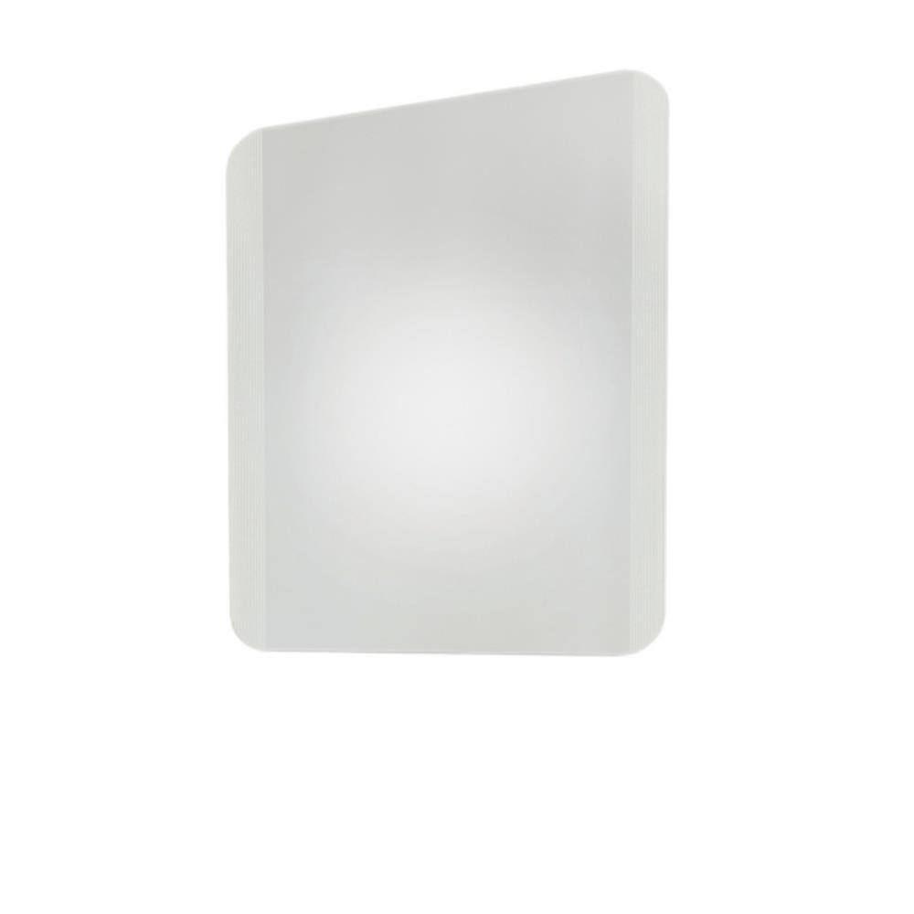 Conj. Gabinete com Espelho Cris Metal Cris-Space Branco 58,5