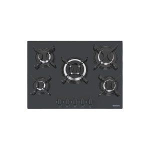 Cooktop Tramontina 60×48 Glass Preto 5Q Gás