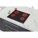 Cooktop Tramontina Vitrocer New Square 4Ev 60 Touch
