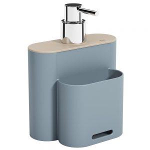 Dispenser Coza Flat 500ml Azul Fog