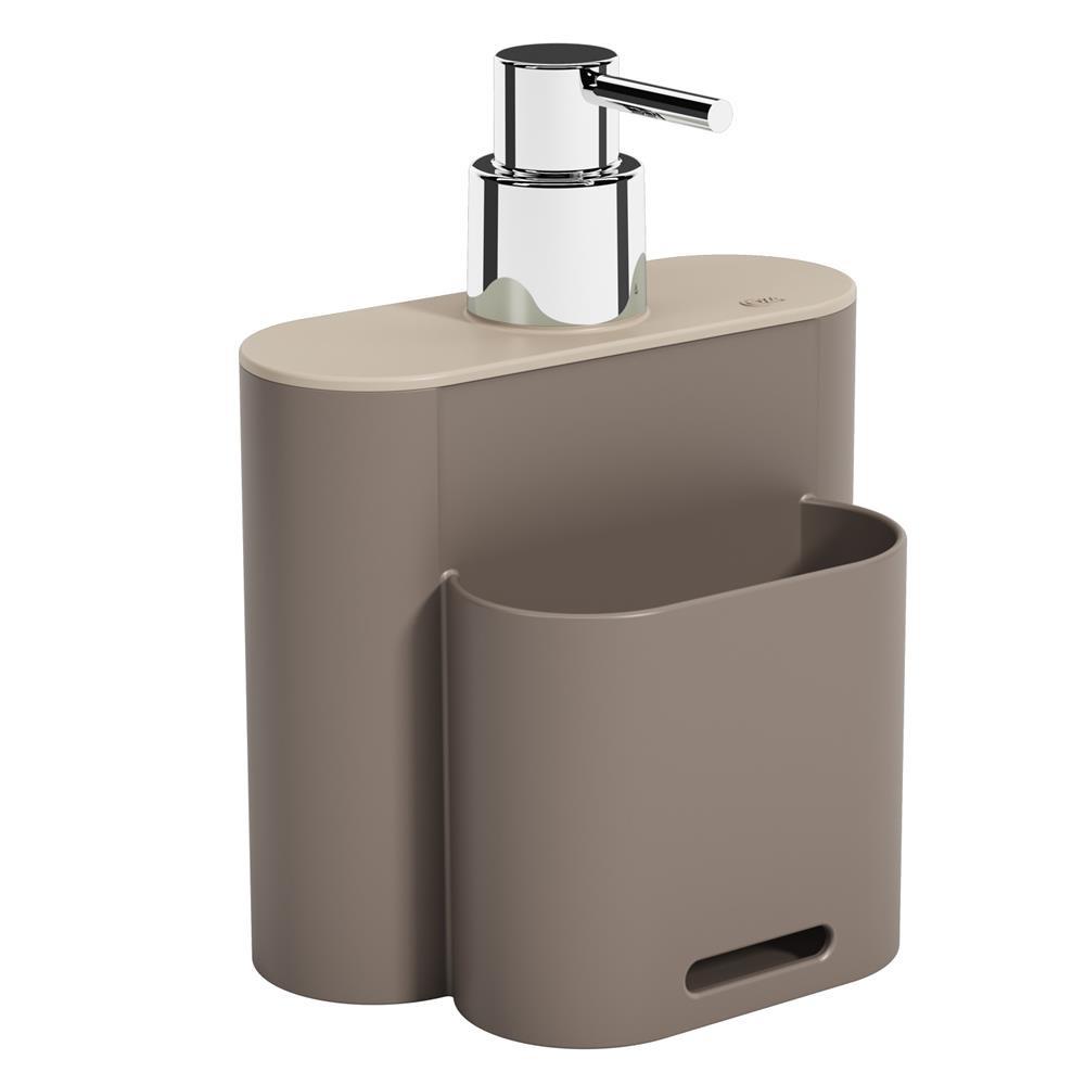 Dispenser Coza Flat 500ml Warm Gray