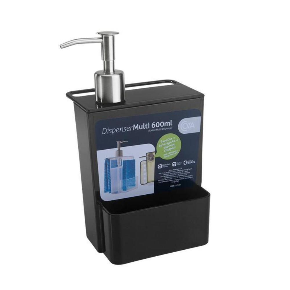 Dispenser Coza Multi 600ml Cristal