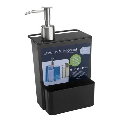 Dispenser Coza Multi 600ml Preto
