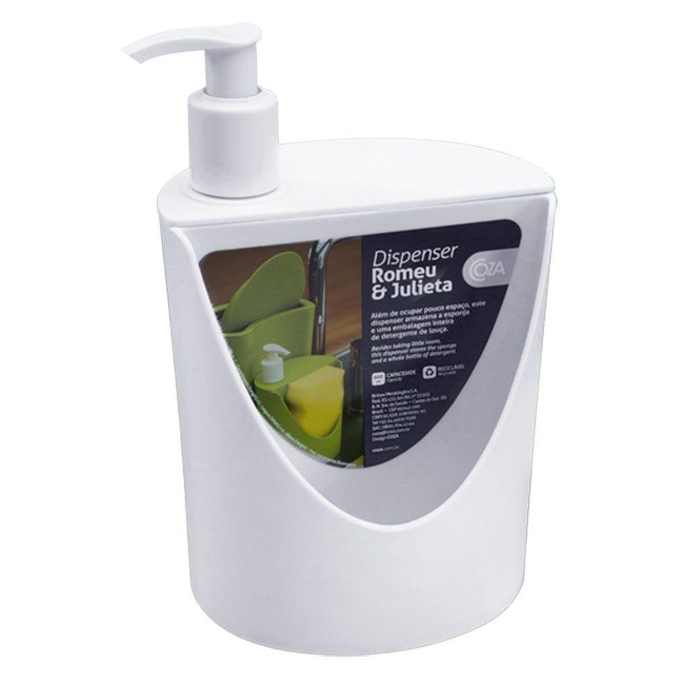 Dispenser Coza R&J 600ml Branco