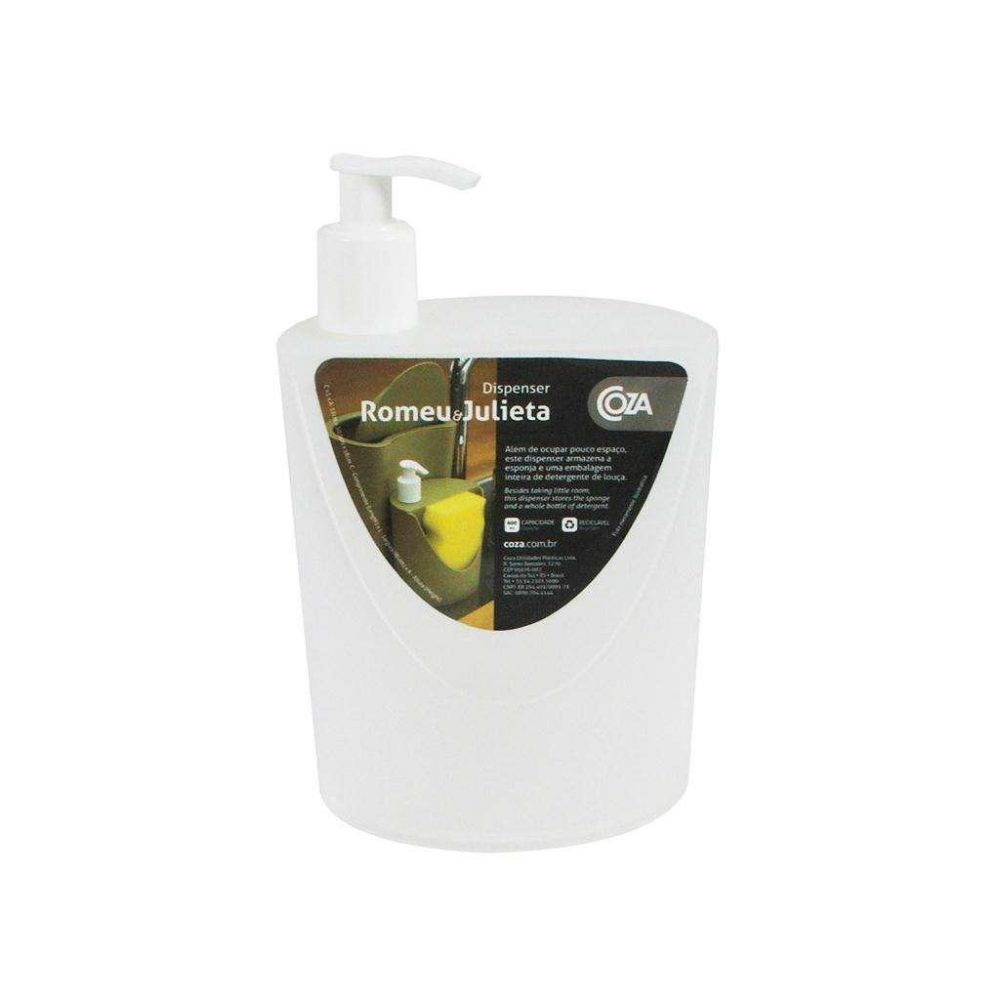 Dispenser Coza R&J 600ml Transparente