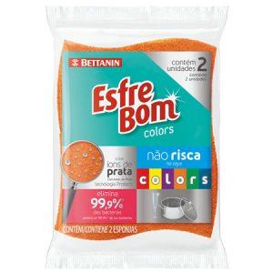 Esponja Bettanin Não Risca Colors