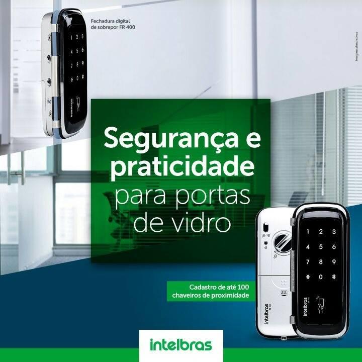Fechadura Digital Intelbras FR400