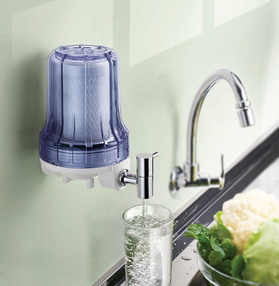 Filtro de Água Loren Acqua 5 Transparente Pou Eca