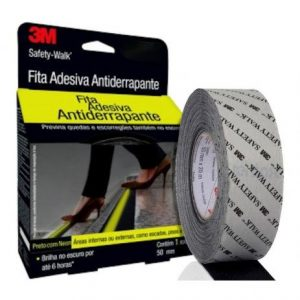 Fita Antiderrapante Safety Walk 3M Fosfore 50mm x 5m
