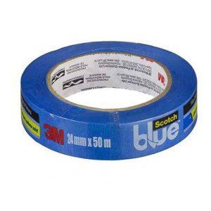 Fita Crepe 3M Scoth Blue 24mm x 50M