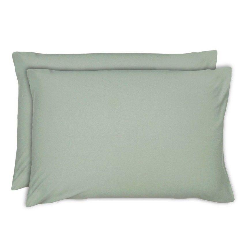 Fronhas Altenburg Jg Malha In Cotton 50×70 – Verde Deserto