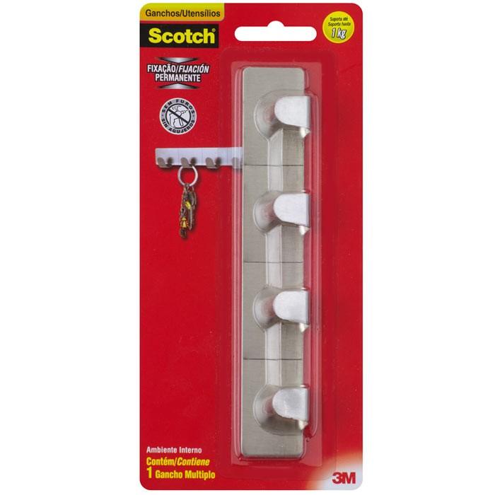 Gancho 3M Scotch Multiplo Na