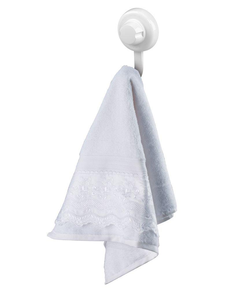Gancho Future Multiuso Branco com Ventosa