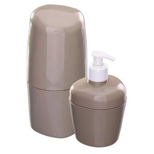 Kit Astra para Banheiro com 2Pcs Argila