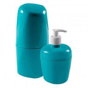 Kit Astra para Banheiro com 2Pcs Azul