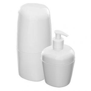 Kit Astra para Banheiro com 2Pcs Branco